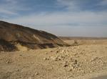 イスラエル・荒野の旅 車窓から