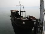 当時の漁船をモデルにした遊覧船