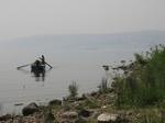 ガリラヤ湖の漁師