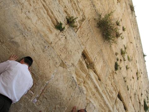 エルサレム旧市街 嘆きの壁